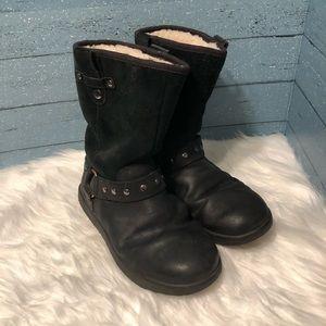 Ugg Black Boots Size 5